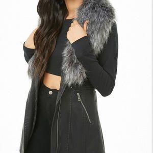 Jackets & Blazers - Faux leather vest